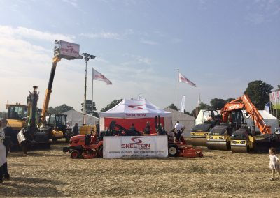 Skelton Plant Hire at The East Kent Ploughing Match 2017