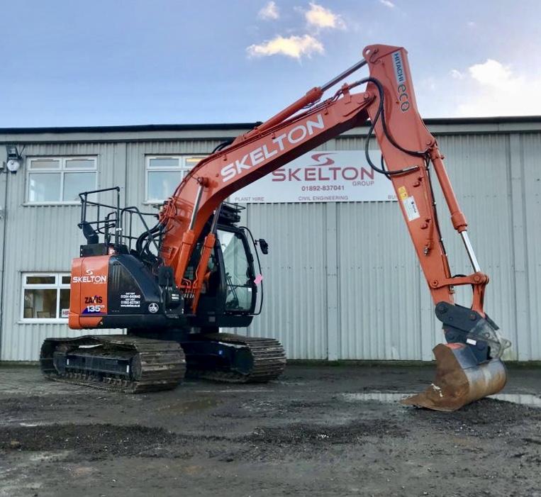 Hitachi for Efficiency | Skelton Plant Hire